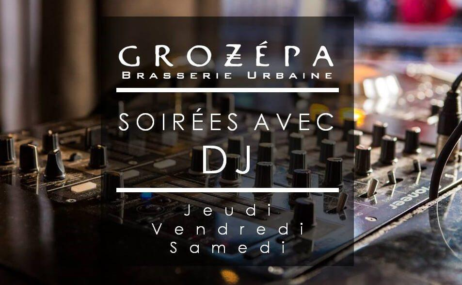 Soirées DJ au Grozepa