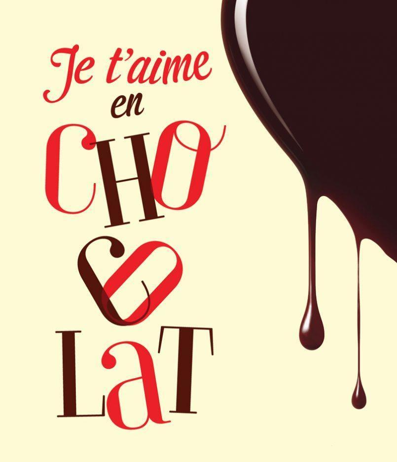 Je t'aime en chocolat!